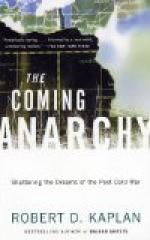 Coming Anarchy by