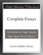 Complete Essays by Charles Dudley Warner