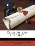 Composition-Rhetoric by Stratton D. Brooks
