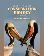 Conservation biology by