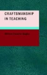 Craftsmanship in Teaching by William Bagley