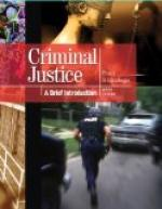 Criminal justice by