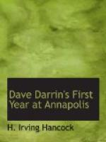 Dave Darrin's First Year at Annapolis by H. Irving Hancock