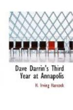Dave Darrin's Third Year at Annapolis by H. Irving Hancock