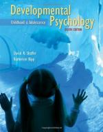 Developmental psychology by