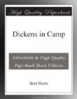 Dickens in Camp by Bret Harte