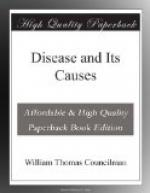Disease and Its Causes by