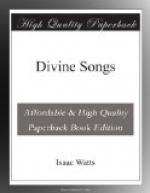 Divine Songs by Isaac Watts