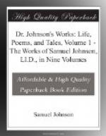 Dr. Johnson's Works: Life, Poems, and Tales, Volume 1 by Samuel Johnson