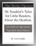 Dr. Scudder's Tales for Little Readers, About the Heathen. by