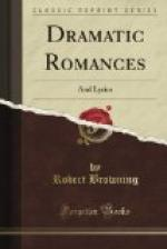 Dramatic Romances and Lyrics by Robert Browning