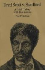 Dred Scott v. Sandford by
