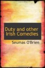 Duty, and other Irish Comedies by