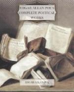 Edgar Allan Poe's Complete Poetical Works by Edgar Allan Poe