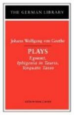 Egmont (play) by Johann Wolfgang von Goethe