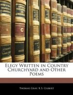 Elegy Written in a Country Churchyard by Thomas Gray