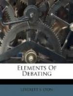 Elements of Debating by