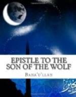 Epistle to the Son of the Wolf by Bahá'u'lláh