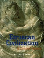 Etruscan civilization by