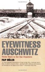 Eyewitness Auschwitz: Three Years in the Gas Chambers by Filip Müller