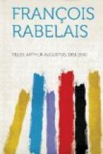 François Rabelais by
