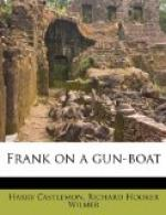 Frank on a Gun-Boat by