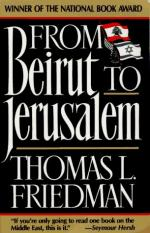 From Beirut to Jerusalem by Thomas Friedman