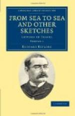 From Sea to Sea and Other Sketches, Letters of Travel by Rudyard Kipling