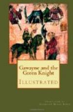 Gawayne and the Green Knight by