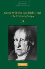 Georg Wilhelm Friedrich Hegel by