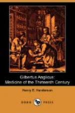 Gilbertus Anglicus by