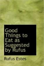 Good Things to Eat as Suggested by Rufus by