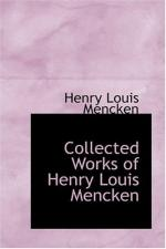H. L. Mencken by