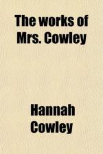 Hannah Cowley by