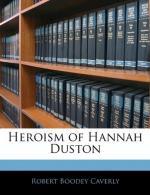 Hannah Duston by