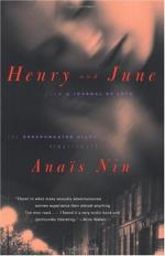 Henry and June: From a Journal of Love: The Unexpurgated Diary of Anais Nin, 1931-1932 by Anaïs Nin