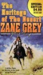 Heritage of the Desert by Zane Grey