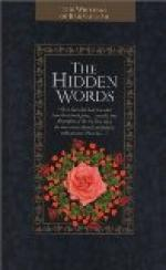 Hidden Words by Bahá'u'lláh