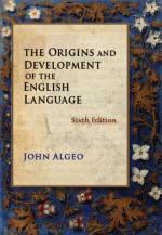 History of the English language by