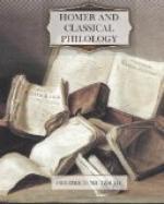 Homer and Classical Philology by Friedrich Nietzsche
