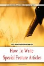 How To Write Special Feature Articles by