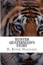 Hunter Quatermain's Story by H. Rider Haggard