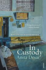 In Custody: A Novel by Anita Desai