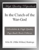 In the Clutch of the War-God by