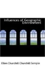 Influences of Geographic Environment by Ellen Churchill Semple