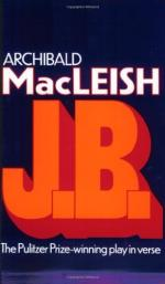 J. B. by Archibald MacLeish