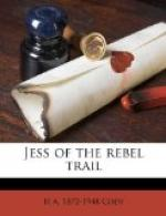Jess of the Rebel Trail by