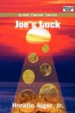 Joe's Luck by Horatio Alger, Jr.