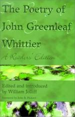 John Greenleaf Whittier by