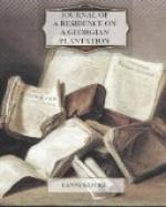 Journal of a Residence on a Georgian Plantation by Fanny Kemble